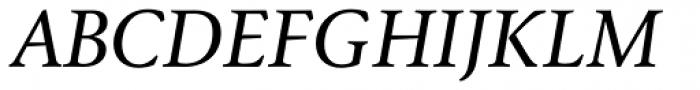 FF Reminga OT Italic Font UPPERCASE
