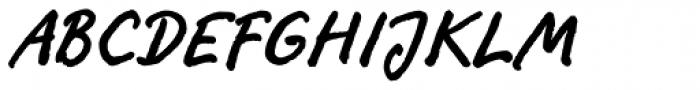 FF Ropsen Script OT Bold Font UPPERCASE