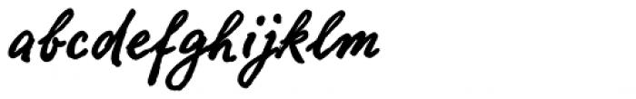 FF Ropsen Script OT Bold Font LOWERCASE