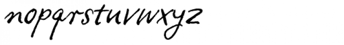 FF Ropsen Script OT Font LOWERCASE