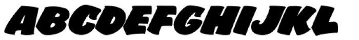 FF Sale Bold Italic Font UPPERCASE