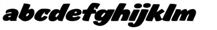 FF Sale Bold Italic Font LOWERCASE