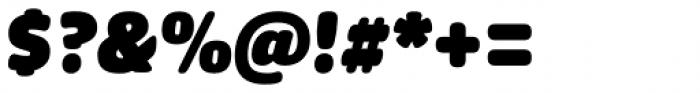 FF Sanuk Round Ultra Italic Font OTHER CHARS