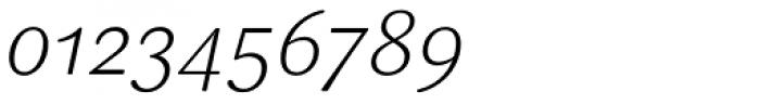 FF Sari OT Light Italic Font OTHER CHARS