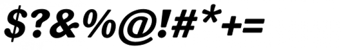 FF Sari Pro ExtraBold Italic Font OTHER CHARS