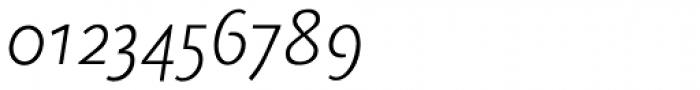 FF Scala Sans OT Light Italic Font OTHER CHARS
