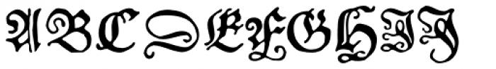 FF Schoensperger Font UPPERCASE