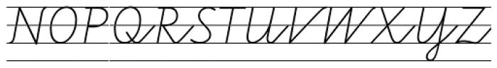 FF Schulschrift OTA Erstes Vier Font UPPERCASE