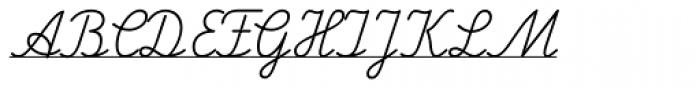 FF Schulschrift OTB Erstes Eins Font UPPERCASE