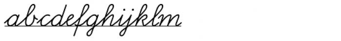 FF Schulschrift OTB Erstes Eins Font LOWERCASE