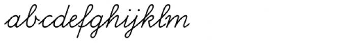 FF Schulschrift OTB Erstes Nor Font LOWERCASE