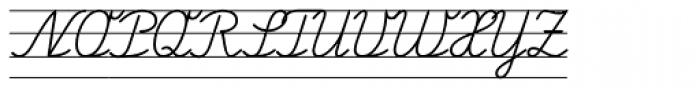 FF Schulschrift OTB Erstes Vier Font UPPERCASE