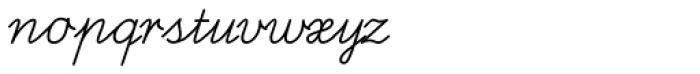 FF Schulschrift OTB Normal Font LOWERCASE
