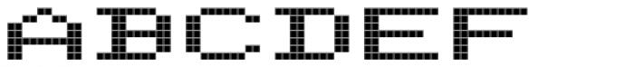 FF Screen Matrix Extended Font UPPERCASE