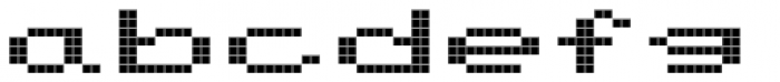 FF Screen Matrix Extended Font LOWERCASE