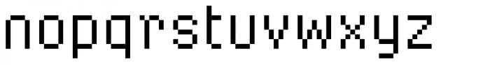 FF Screenstar Regular Font LOWERCASE
