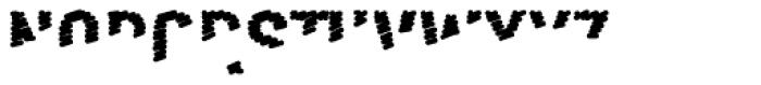 FF Scribble Less One OT Font UPPERCASE