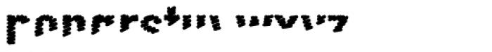 FF Scribble Less One OT Font LOWERCASE