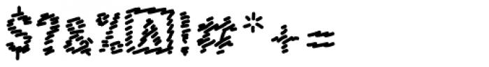 FF Scribble Scrawl OT Font OTHER CHARS
