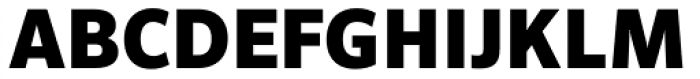 FF Sero Pro Black Font UPPERCASE