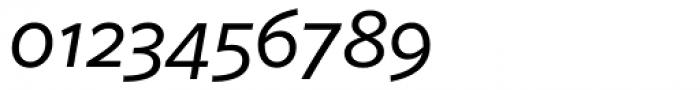 FF Sero Pro SC Italic Font OTHER CHARS