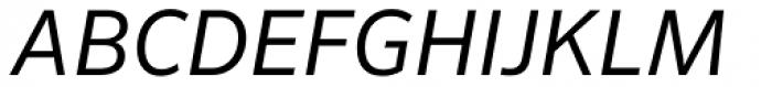 FF Sero Pro SC Italic Font UPPERCASE