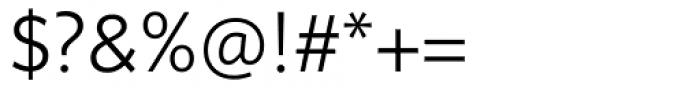 FF Sero Pro SC Light Font OTHER CHARS