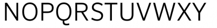 FF Sero Pro SC Light Font UPPERCASE