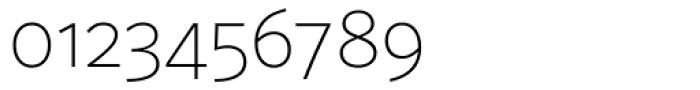 FF Sero Pro SC Thin Font OTHER CHARS