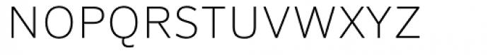 FF Sero Pro SC Thin Font LOWERCASE
