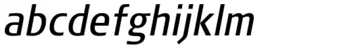 FF Signa Pro Cond Book Italic Font LOWERCASE