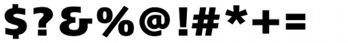 FF Signa Pro ExtraBlack Font OTHER CHARS