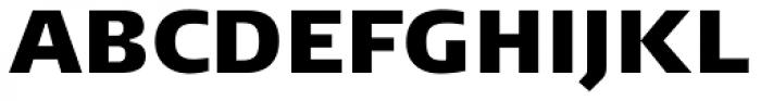 FF Signa Pro ExtraBlack Font UPPERCASE