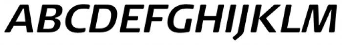 FF Signa Round Pro Bold Italic Font UPPERCASE