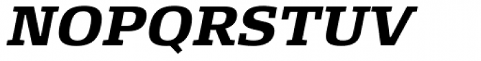 FF Signa Slab OT Bold Italic Font UPPERCASE