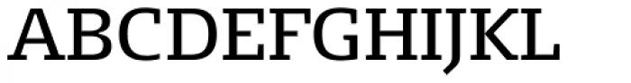 FF Signa Slab OT Book Font UPPERCASE