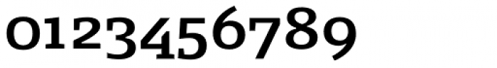 FF Signa Slab OT DemiBold Font OTHER CHARS