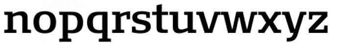 FF Signa Slab OT DemiBold Font LOWERCASE