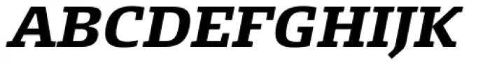 FF Signa Slab Pro Bold Italic Font UPPERCASE