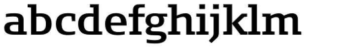 FF Signa Slab Pro DemiBold Font LOWERCASE