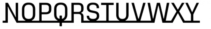 FF Sizmo Line Pro Medium Font UPPERCASE