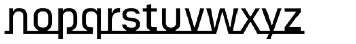 FF Sizmo Line Pro Medium Font LOWERCASE