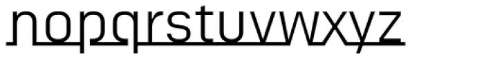 FF Sizmo Line Pro Font LOWERCASE