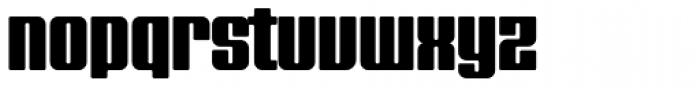 FF Softsoul OT Bold Font LOWERCASE