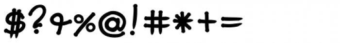 FF Soupbone OT Bold Font OTHER CHARS