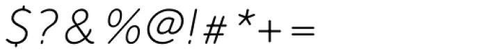 FF Speak OT Italic Font OTHER CHARS
