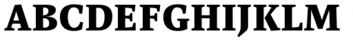 FF Spinoza OT Bold Font UPPERCASE