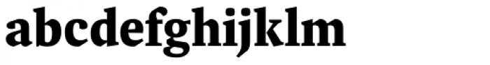 FF Spinoza OT Bold Font LOWERCASE