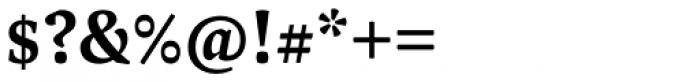 FF Spinoza OT Medium Font OTHER CHARS