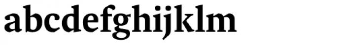FF Spinoza OT Medium Font LOWERCASE